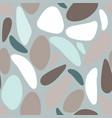 grey blue terrazzo seamless repeat pattern vector image