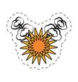 pop art speech bubble symbol vector image vector image