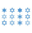 Star of David vector image