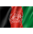 national flag of afghanistan republic vector image