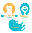 Pet Dream Products vector image