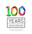 100th anniversary congratulation for company or