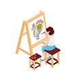 art school lesson icon