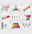 big collection infographics design elements vector image vector image