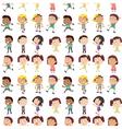 Different emotion of kids