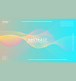dynamic colorful vibrant wave colorful background vector image vector image