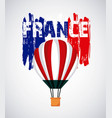 famous monuments france vector image vector image
