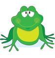 Froggie vector image vector image