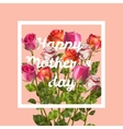 Happy Mothers Background EPS 10 vector image vector image