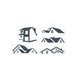home logo icon vector image vector image
