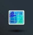 wardrobe icon button logo symbol concept vector image vector image