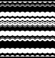 wavy zigzag lines repeatable pattern - irregular vector image