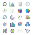 concept for infographics charts vector image