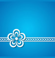 blue holiday background vector image