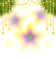 blur star vector image vector image