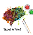 Creativity Brain Concept vector image