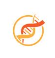 dna health logo designs icons vector image vector image