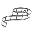film reel icon video and entertainment symbol vector image vector image
