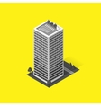 Skyscrapers House Building Icon vector image vector image