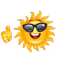 Thumb up sun vector | Price: 1 Credit (USD $1)