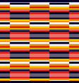 horizontal color lines seamless pattern vector image