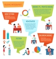 Reading People Infographics vector image vector image