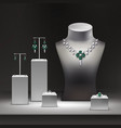 jewelry shop vector image