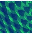 Abstract geometric polygonal background 3d vector image