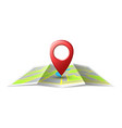 map localization place pin vector image