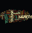 Test anxiety text background word cloud concept