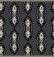 trendy ornamental arabesque flourish seamless vector image vector image