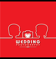 Wedding Photography Concept stock vector image