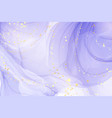 abstract luxury lavender liquid watercolor vector image
