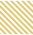 gold glittery seamless stripes lines pattern on vector image