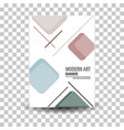 poster flyer pamphlet brochure cover design vector image