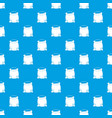sack full of flour pattern seamless blue vector image vector image