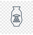 souvenir concept linear icon isolated on vector image