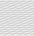 white seamless patterntexture abstract waves vector image vector image