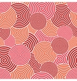 modern red spiral seamless background vector image