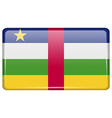 Flags Central African Republic in the form of a vector image