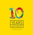 10th anniversary congratulation for company