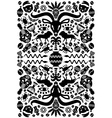 Abstract Tribal Ornamental Background vector image vector image