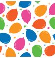balloon pattern vector image