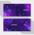 Banner hipster futuristic graphic