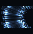 blue stripe bar curve abstract background