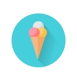 Ice Cream Flat Style vector image vector image