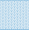 marine geometric seamless pattern vector image vector image
