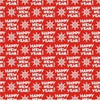 seamless pattern for new year vector image vector image