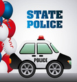 state police vector image vector image