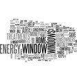window treatments help homeowners save money text vector image vector image